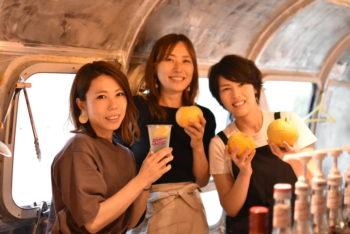 LiV × LiVEs  Part6:しまカフェ〈草野結実/musubi cafe、豊福未紗/フィッシャーマンキッチン、成田由子/エンジニア〉