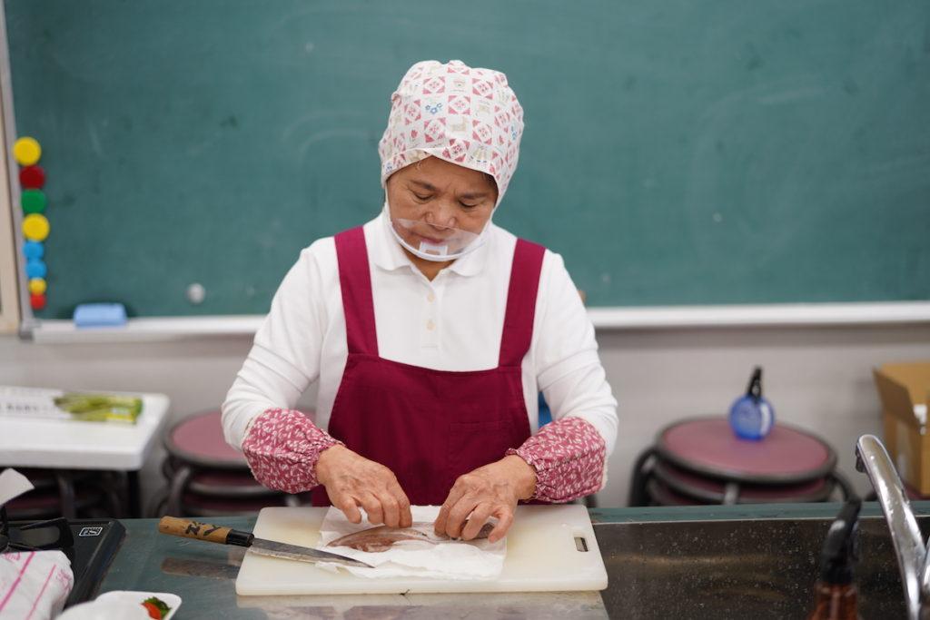 9月の教室は鐘崎のケンサキイカ!