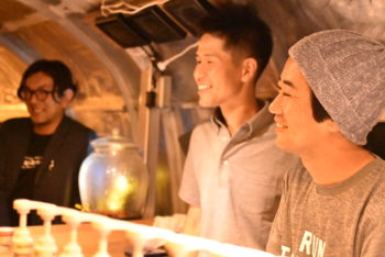 LiV × LiVEs  Part5:宗像日本酒プロジェクト 〈農家/福島光志、石松健一郎、酒造/斉田匡章〉